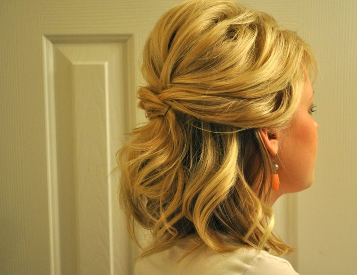 Astonishing Half Up Half Down Wedding Hairstyles For Short