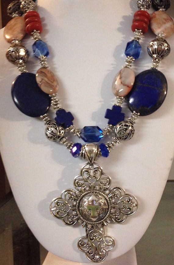 Chunky Cowgirl Western Necklace by CowgirlInspiration on Etsy, $58.00