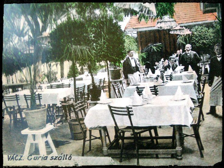 Vác, Curia szálló, 1900-s évek elején