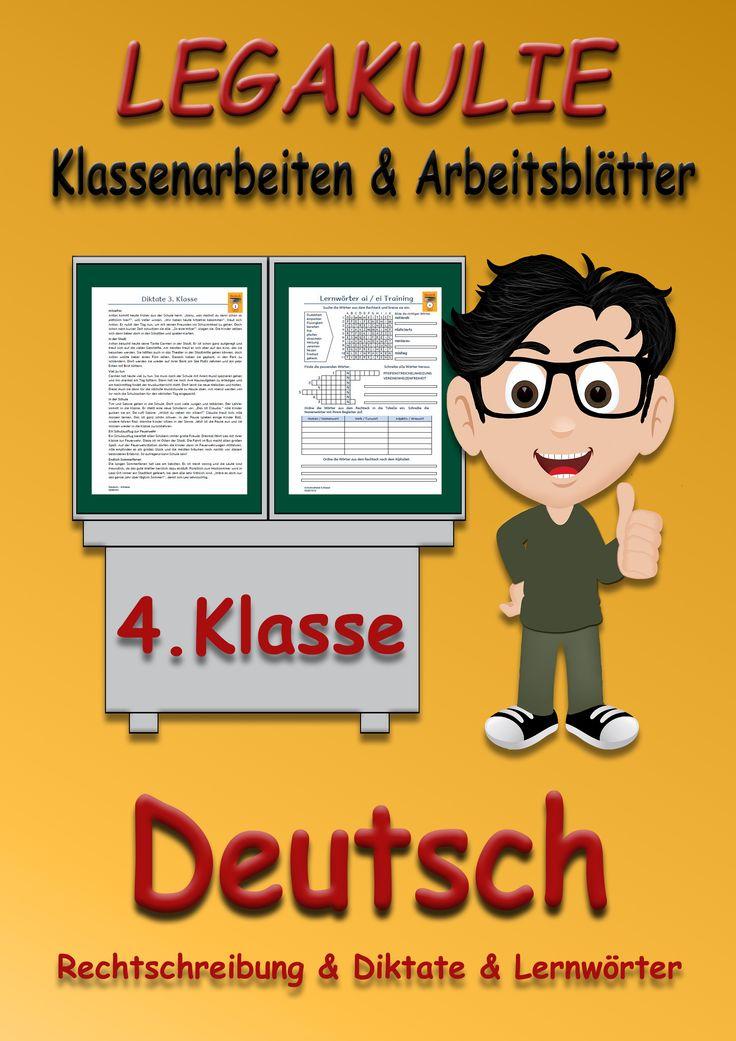 15 besten Deutsch 4.Klasse Übungsblätter Unterrichtsmaterial Bilder ...