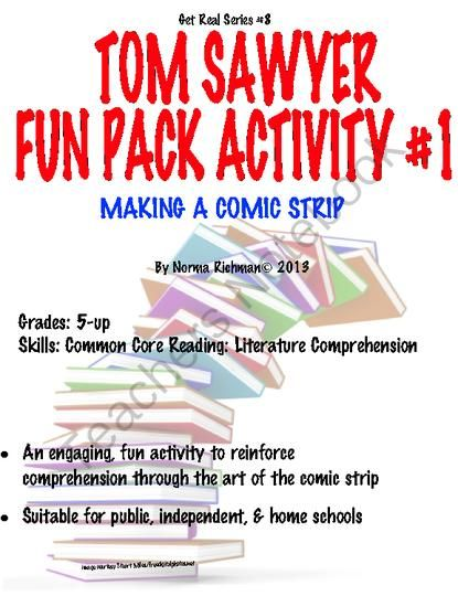 Tom Sawyer Essay Ideas?