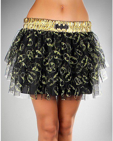 Batman Sequin Band Tutu - Spencer's