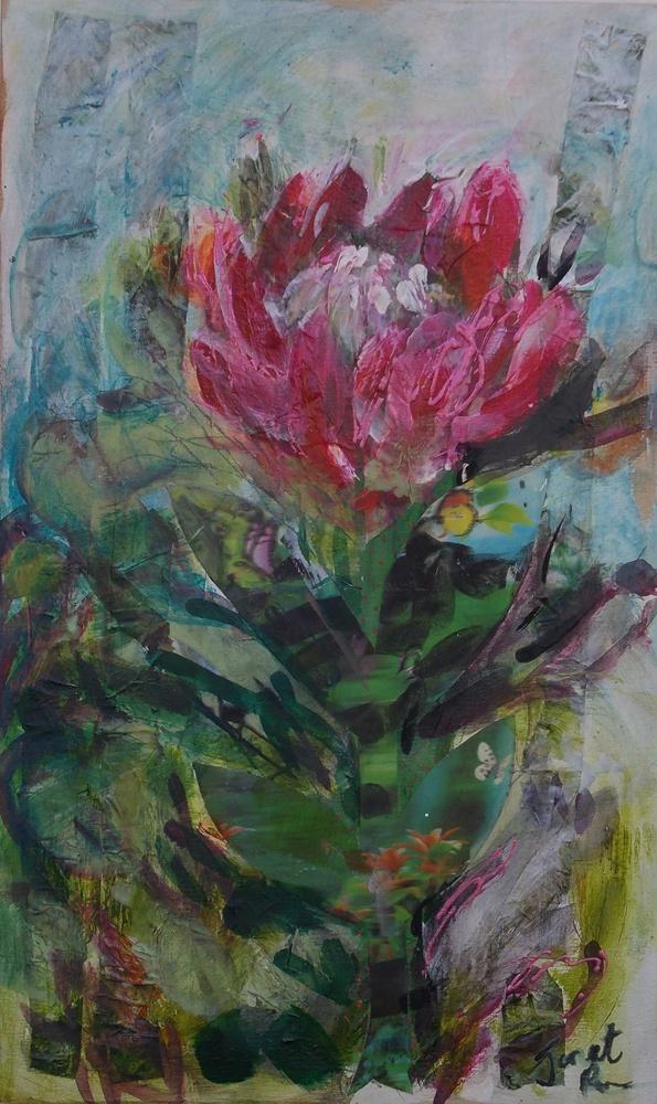 Uncut - Painting by Janet Ranson   StateoftheArt.co.za