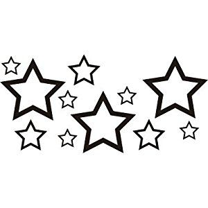 18 best star tattoo outline images on pinterest tattoo outline font tattoo and star tattoos. Black Bedroom Furniture Sets. Home Design Ideas