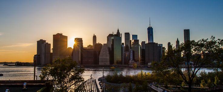 A Manhattan Sunset...