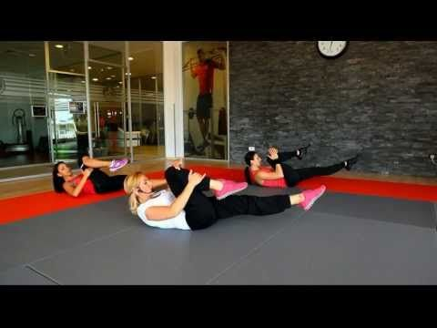 Exercitii pentru abdomen si spate cu Marga Balan