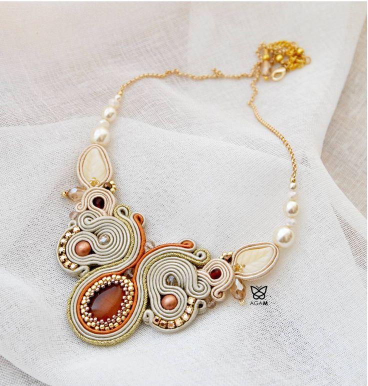 AGAM naszyjnik ślubny wedding necklace