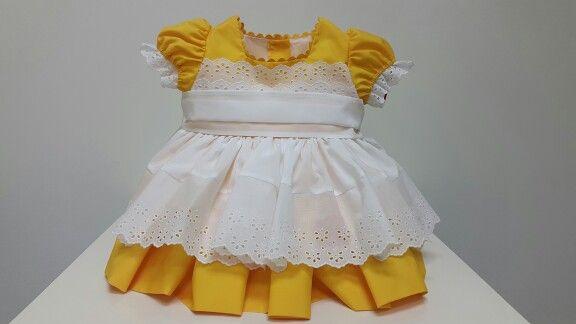 Vestido de Artesanía Infantil Sonata exclusivo para Pequeñajos Gijon.