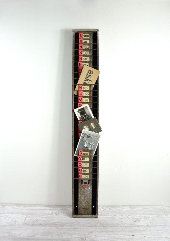 1000 Images About Vintage Time Clock Racks On Pinterest