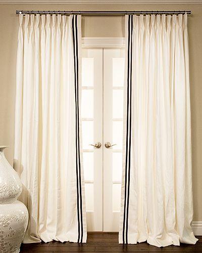 Best 25+ Ribbon Curtain Ideas On Pinterest