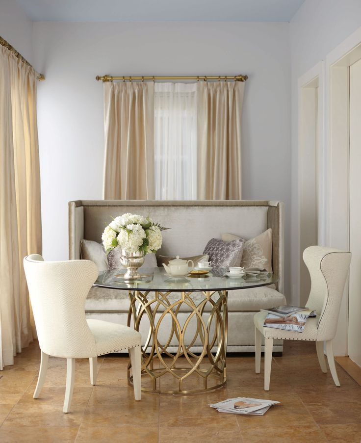 By Bernhardt Interiors   Salon Dining Room Setting Part 47