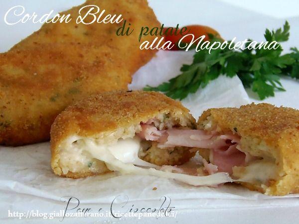 Ricetta Cordon Bleu di Patate alla Napoletana un piatto davvero unico, una rivisitazione dei classici panzerotti napoletani trasformati in cordon bleu deliziosi! Scoprite anche voi la ricetta:
