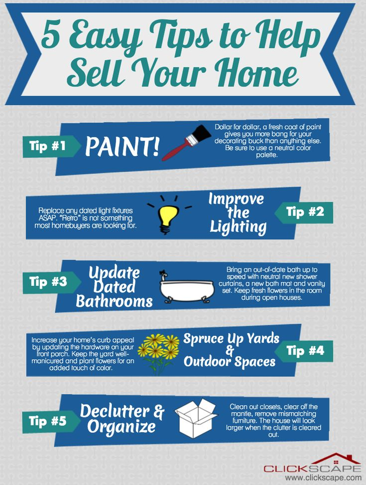 how to get house ready to sell fast