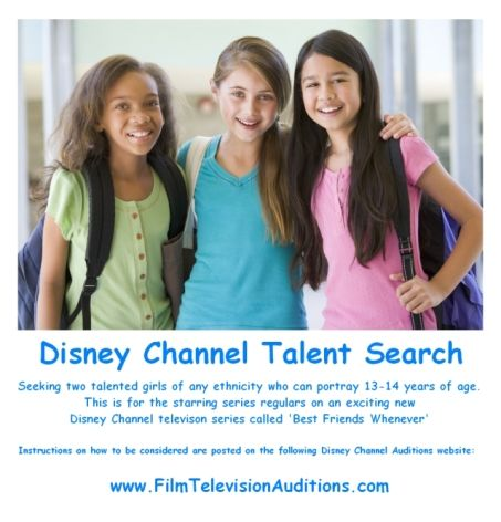 casting for calls channel teens disney