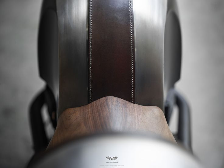 Resurrected from the earthly remains of a 2007 Triumph Thruxton 900, 'Up Yours Copper' is all about details, materials and