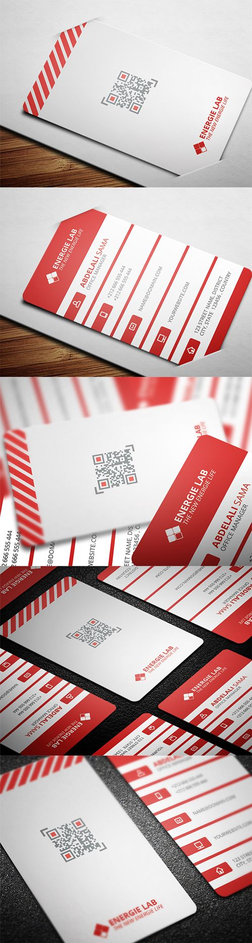 business cards template design - 6 #businesscards #creativebusinesscards #2014design