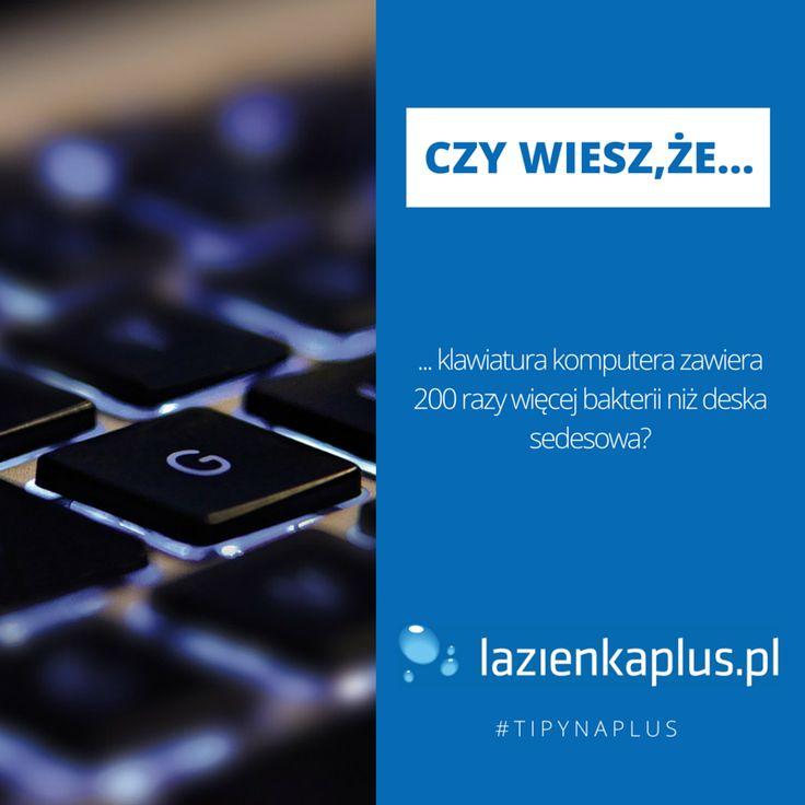 Czy wiesz, że...  #tipynaplus #porady #sprzątanie #lazienkaplus
