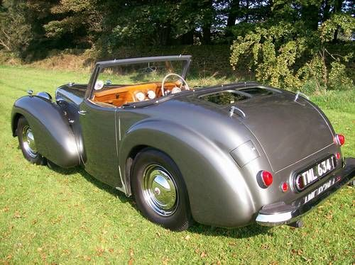 1948 Triumph 2000 Roadster - If you have any images you wish to submit email to tastefulimagesnz@gmail.com