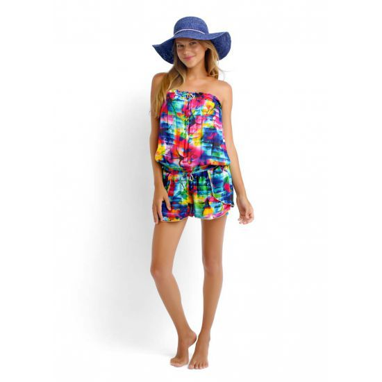 """Combishort Seafolly Sonic Bloom Shake it Playsuit Multicolore"" KassyDreamsfit: Prix: 95.90€ Taille: 36,38,40,44"