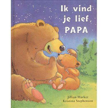 Ik vind je lief papa  Met een beetje hulp van Papa Beer merkt Kleine Beer dat hij toch al heel veel kan zoals in een boom klimmen honing uit een boom halen en meer.  EUR 3.49  Meer informatie