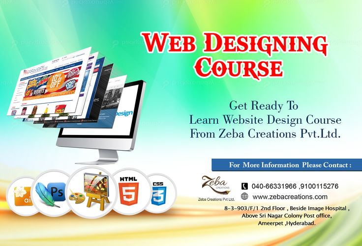 Great #Webdesign without #functionality is like a sports car with no #Engine. #Zeba Institute Providing #WebDesigning Course With #Live Projects, For free Registration click on the link http://www.zebacreations.com/register.html