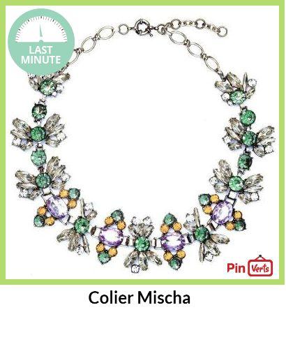 Un colier perfect pentru o zi de primavara sau o seara la bratul lui. Check out at http://pinverts.com/Colier-Mischa_0uf0508