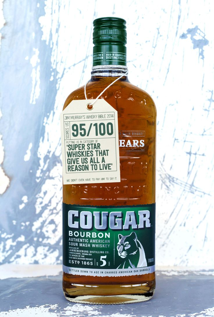 Supporting the 'Cougar Bourbon. Straight Up' Ad campaign, developed by Clemenger BBDO, Davidson have been working closely with the Spirits team at CUB to revitalise the packaging to appeal to the no-frills 'straight up' consumer who enjoys a good bourbon from time to time.