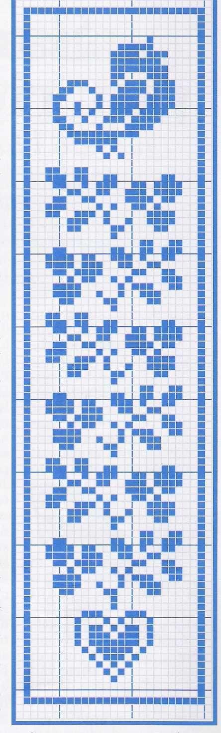 inspiration: bookmark http://digilander.libero.it/assitpuntocroce/schemi/schema-segnalibro2.jpg | cross-stitch