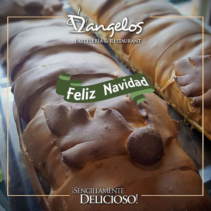 Llegó la navidad! Y la celebramos con el sabor #SencillamenteDelicioso del Pan de Jamón que te encanta.  Encargos en el link de nuestro perfil y en http://dangeloscafe.com  #PanDeJamon #Guayana #puertoordaz #gastronomía