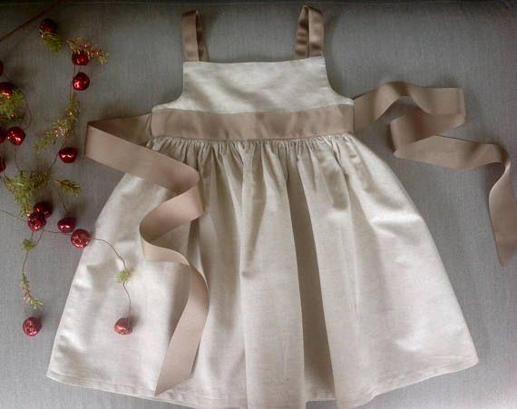 Girls size 2 cotton Christmas dress party dress sun dresses