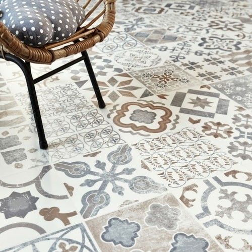 Antique Style Gustavian 05 Cushioned Vinyl Flooring Roll | Best4flooring UK