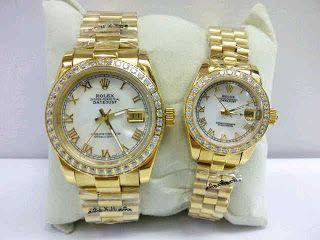 Rolex Datejust Gold Romawi Harga : Rp 475.000,- per pcs  Spesifikasi : Tipe : jam tangan wanita Kualitas : kw super Diameter : 3,5cm dan 2,5cm Tali : rantai Fitur : tanggal aktif  Pemesanan bisa hubungi :  SMS 081929271117 Pin Bb 270C3124