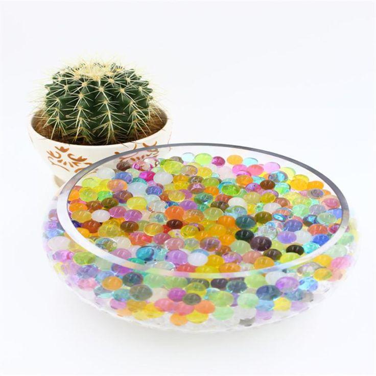 snowshine3 #4022  7000 PCS Water Bullet Balls Water Beads Mud Grow Magic Jelly Balls  table game #Affiliate