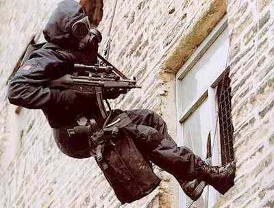 1 - British SAS UK  The Special Air Service  trained to perform equally well in all the fields listed for the SEALs, but is also trained by MI-5 and MI-6 for in-depth counter-espionage, more so than the SEALs. Physical competency must be of equal stature to the SEALs, to the degree that both special forces work closely together when necessary (Iraq and Afghanistan) and have good camaraderie.     They have the distinction of being the model on which almost all national commando units are base