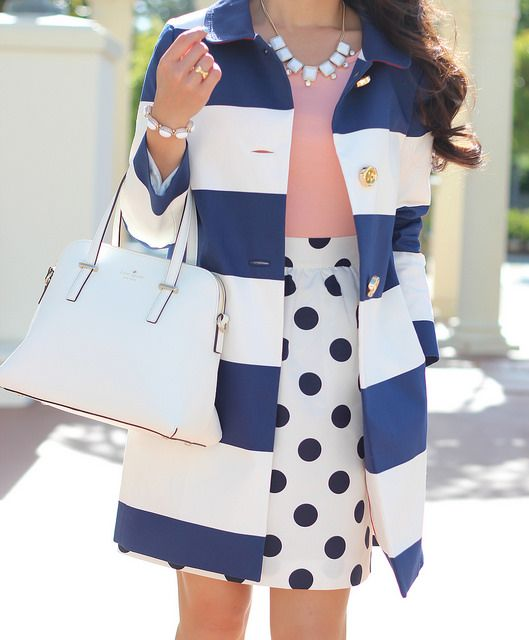 So in love with this kate spade coat