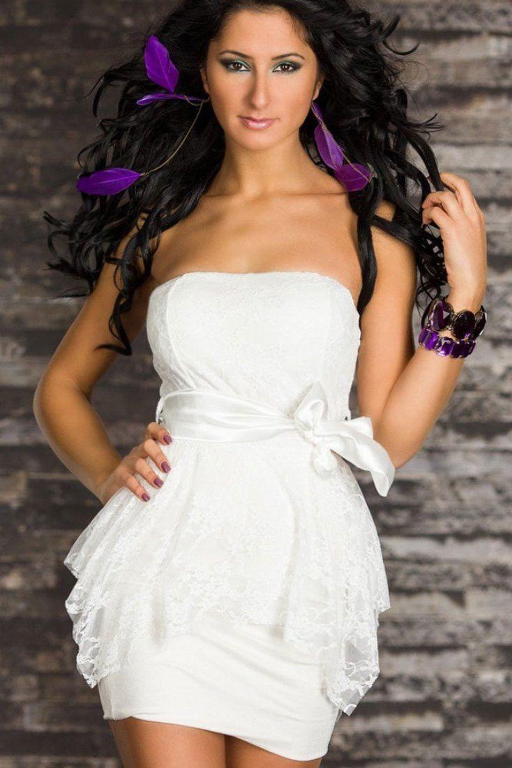 11 best All White Party Dress images on Pinterest | Ballkleider ...