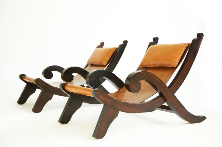 Clara Porset Quot Miguelito Quot Lounge Chairs Modern Lounge
