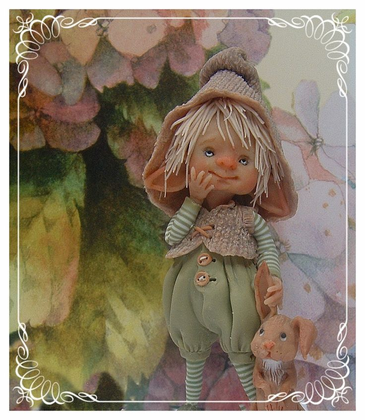 *POLYMER CLAY ~ enaidsworld: Fairy puppets