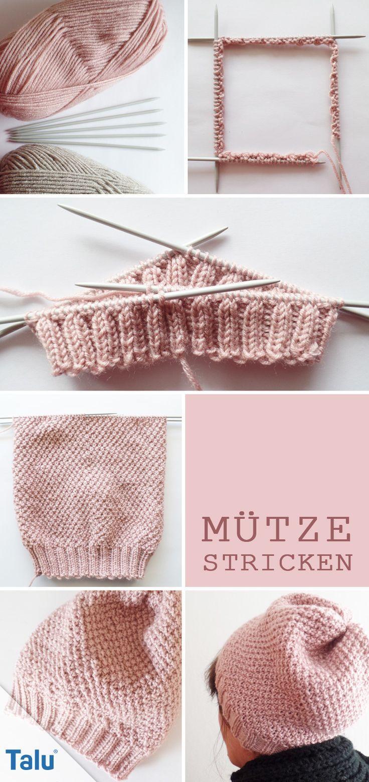 169 best Knitting images on Pinterest | Strick, Beanie mütze und ...
