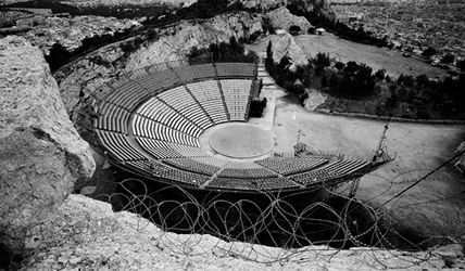 Amphitheatre Athens Greece by Zenetos