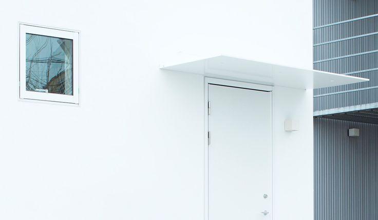 窓の家|玄関庇|仕様・設備|無印良品の家