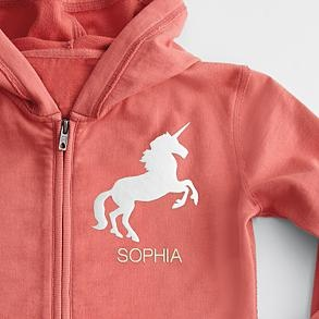 40 best baby stick horses images on pinterest toddler toys personalized kids hoodie with unicorn patch yea for girl things negle Gallery