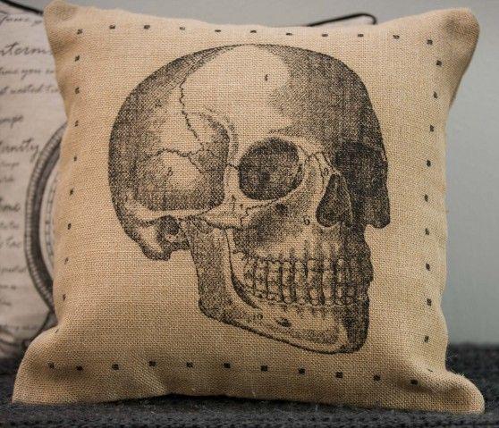 Cojín Esqueleto 45x45 - Yute - Muebles
