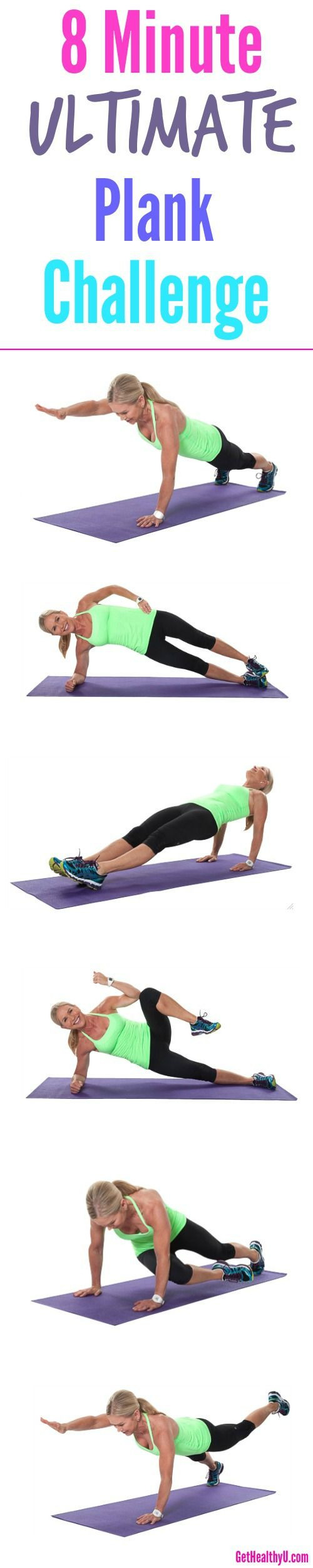 Combine elements of balance, symmetry, oblique lifts, and low back engagement to give you a complete, all-around core strength challenge.