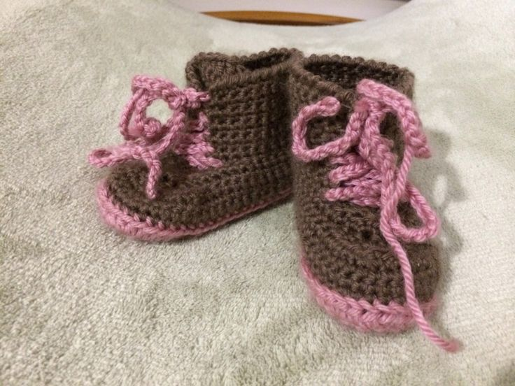 I must admit I think booties are bloody hard to make. I just can't get them to work