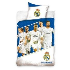 This latest Real Madrid Crest Quilt Cover is now available at Soccer Box http://www.soccerbox.com/internationalteams/real-madrid-football-shirts/real-madrid-quilt-cover.html
