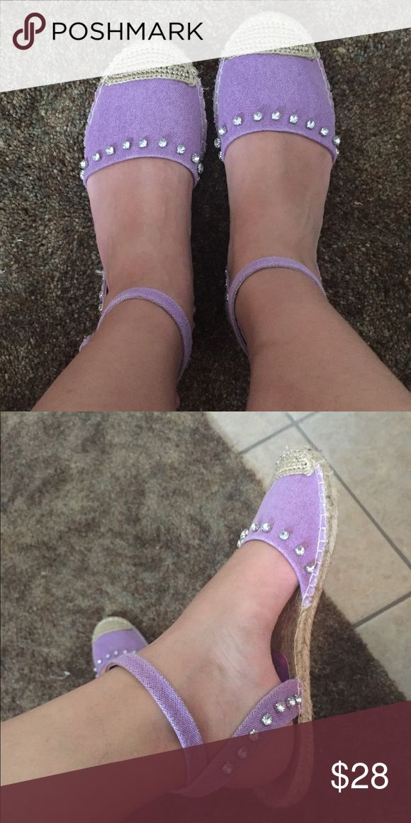 Purple espadrilles Great condition Lilly Pulitzer Shoes Espadrilles