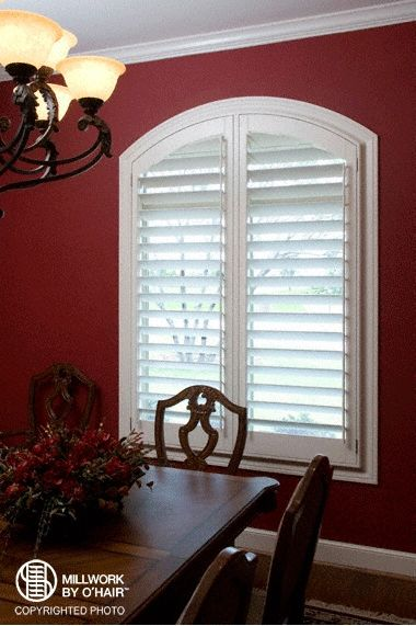 ohair shutters  fit  style  window   beautiful window treatment decor arched