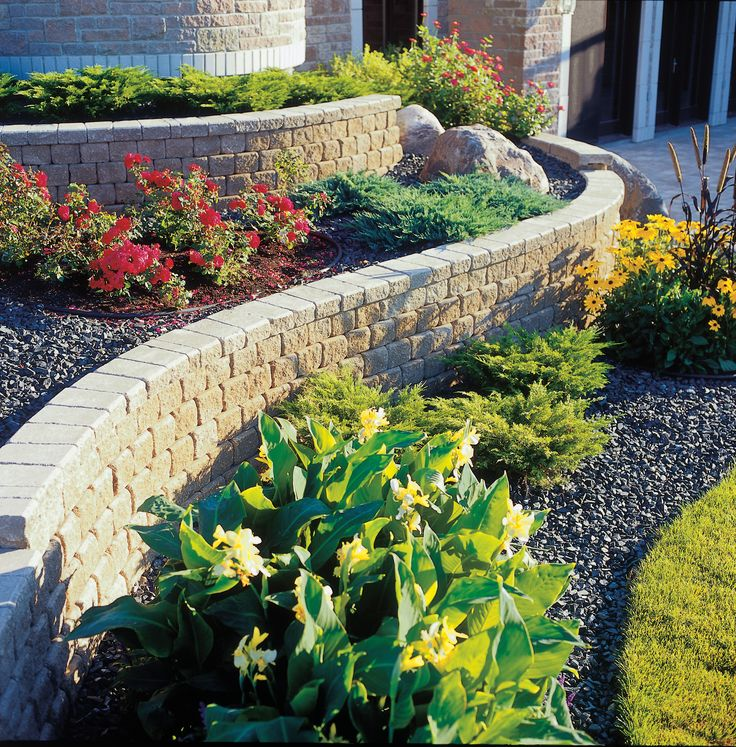 Commercial Walls Landscape Design: 344 Best Barkman Hardscapes Images On Pinterest