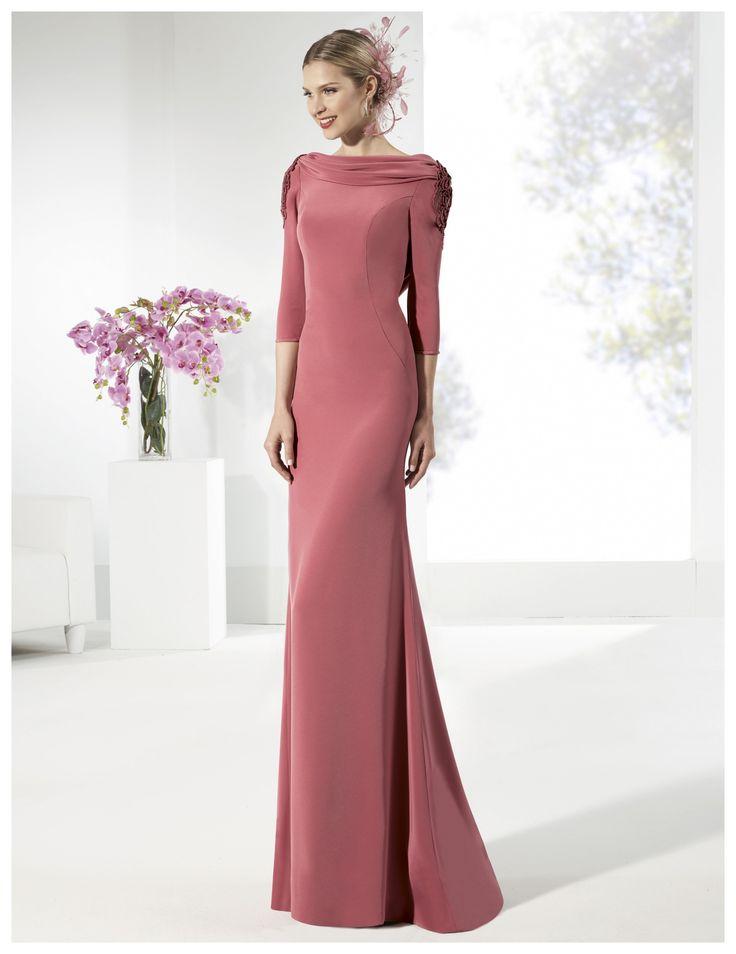 Vestido de Madrina de Manu Alvarez (MA 18), largo